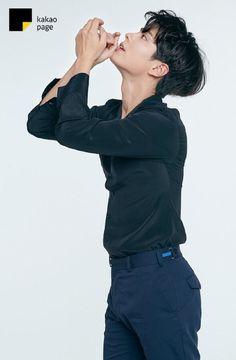"""park bogum for kakao page ✧ smart bogum vs. Korean Male Actors, Handsome Korean Actors, Korean Celebrities, Handsome Boys, Celebs, Park Bo Gum Wallpaper, Park Bogum, Park Hae Jin, Song Joong"