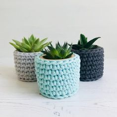 Excited to share this item from my shop: Crochet kit, diy plant pot cosy Crochet Diy, Crochet Home Decor, Crochet Basics, Small Crochet Gifts, Crochet Socks, Crochet Basket Pattern, Easy Crochet Patterns, Crochet Planter Cover, Small Potted Plants