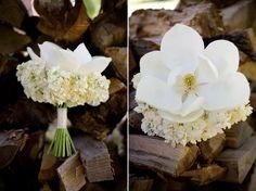 beautiful magnolia bouquet, probably a live magnolia though :(