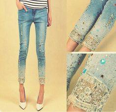 Costumizando calça