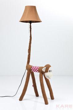 Saved from Kare design Monkey Lamp Room Inspiration, Floor Lamp, Home Goods, Kids Room, Table Lamp, Lighting, Monkey, Furniture, Design
