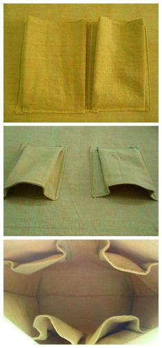 Step by step tutorial for how to make roomy 3D pockets for the inside of your bags.  I'll never make a flat pocket again! Bags To Make, Making Bags, How To Make Handbags, Making Purses, How To Make Purses, How To Sew Pockets, Diy Bag With Pockets, Sewing Pockets, Bag Patterns To Sew