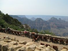 The view from Grand Canyon Lodge - North Rim Grand Canyon - Arizona