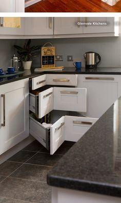 Corner storage solution