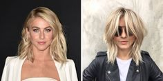 Everyone knows growing out your hair can get boring, which is why Julianne Hough switched things up with some beige-y blonde highlights and a new, shaggy 'do care of Riawna Capri at Nine Zero One.