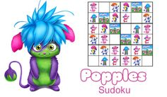 Sudoku - Free Fun Party Popples Printables and Activities | SKGaleana