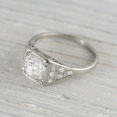 Art Deco in Fine Jewelry > Engagement Rings - Etsy Jewelry