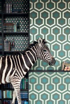 grafisch behang / wallpaper