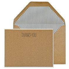 Sugar Paper Thanks To You Noteset