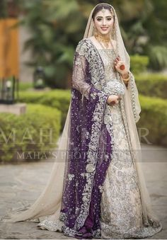 Nikkah Braut - New Ideas Asian Bridal Dresses, Pakistani Wedding Outfits, Wedding Dresses For Girls, Pakistani Wedding Dresses, Pakistani Dress Design, Party Wear Dresses, Bridal Outfits, Indian Outfits, Nikkah Dress