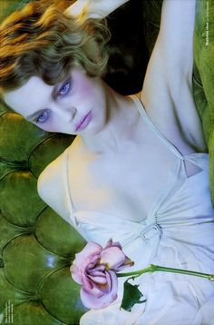 "Sasha Pivovarova""Madame Rêve"" by Miles Aldridge | Numéro #63"