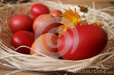 Photo about Easter background with red eggs. Image of seasonal, tradition, eggsn - 140228682 Egg Photo, Easter Backgrounds, About Easter, Free Stock Photos, Easter Eggs, Seasons, Traditional, Red, Image
