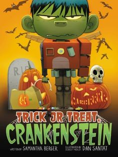 This year, Crankenstein's favorite day of all—Halloween—has gone rotten! Creepy-cool costumes, super-scary jack-o'-lanterns, and loads of candy have been RUINED by costume disasters, pumpkin-carving nightmares, and a terribly untimely toothache! MEHHRRRR!!! Can Halloween be saved, or will today turn into the crankiest Halloween in history?