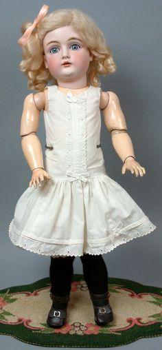"Darling 21"" Wonderful Early ""Letter"" Kestner Antique Doll C 1895 Those Eyes WOW | eBay"
