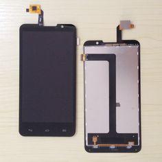 En Kaliteli YENI Highscreen Alpha R LCD Ekran + Dokunmatik Ekran Digitizer Meclisi Ücretsiz Nakliye + araçları kiti