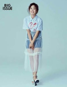 #SEJEONG - Big Issue Magazine Kim Sejeong, K Pop Star, Tulle, Ballet Skirt, Short Sleeve Dresses, Singer, Kpop, Actresses, Shirt Dress