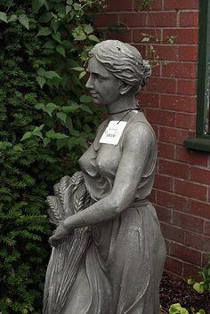 Girl Garden Statue
