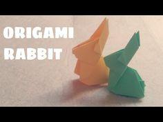 Origami for Kids - Origami Rabbit - Origami Animals - YouTube