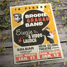 Brodie Graham single & video launch.