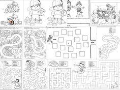 Labirinti, differenze, memory, puzzle: 140 schede liberamente scaricabili