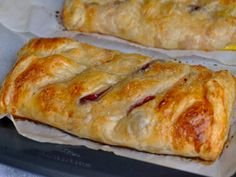 Super Simple Peach and Blackberry Strudel Recipe. GETTING READY 1. Place the baking sheets in fridge to chill. 2. Preheat the oven to 425 degrees F. 3. Score...