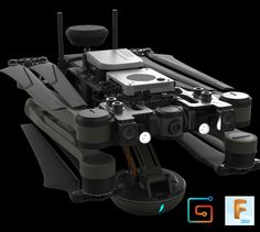 Fusion360 Hard Surface tutorial, drone design., Jort van Welbergen on ArtStation at https://www.artstation.com/artwork/r4vke