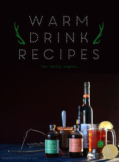 3 Warm Drink Recipes for Chilly Nights! | Drink | A Wine, Beer & Spirit Blog by Bottles