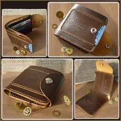 Card holder Leather card wallet Leather wallet Bifold wallet Mens wallet Personalized wallet Groomsmen wallets Wedding gifts Custom wallet We are proud to present you our new items! Leather credit card case and cash . Handmade from high grade leatherCrazy Horse. This leather