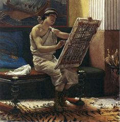 The Athenaeum - A Roman Artist (Sir Lawrence Alma-Tadema - )