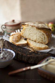 No knead bread / Pane senza impasto