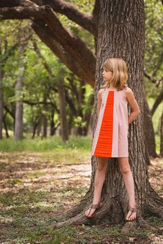 Persimmon Dress - Willow & Co pattern | sewn by Stitched Together