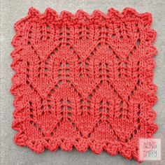 No Place Like Home Knit DishclothPattern - Home - beingspiffy