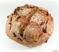 Sourdough Bread with raisins and pecans