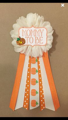 Baby Shower Little Pumpkin Neutral Shower mommy to be pin baby shower pin Ribbon Pin Corsage Glitter halloween babyshower Fall Gender Reveal, Halloween Gender Reveal, Baby Shower Gender Reveal, Baby Halloween, Pumpkin Gender Reveal, Baby Gender, Baby Shower Pin, Baby Shower Fall Theme, Baby Shower Ideas For Girls Themes