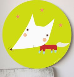 Kids wall art, prints and murals-Cuadros infantiles, láminas y tarjetas para fiestas — Cuadro infantil- Zorringson wall art