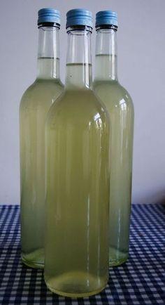 Vlierbloesemsiroop Juicy Juice, Homemade Lemonade, How To Make Drinks, Popsicle Recipes, Juice Smoothie, Smoothies, Cocktail Drinks, Cocktails, Healthy Drinks