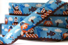 woven ribbon 'Vikings' by ByBora on Etsy, $2.50