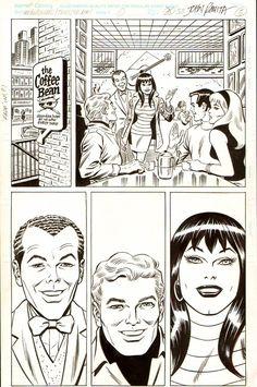 Webspinners Comic Art For Sale By Artist John Romita Sr. at Romitaman.com