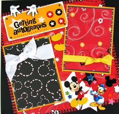 Cute Scrapbook Disney Pages