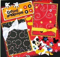 Cute Scrapbook Disney Pages