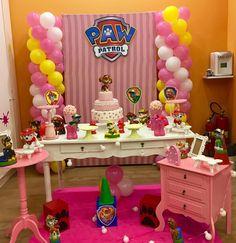 Paw Patrol Party, Paw Patrol Birthday, 4th Birthday Parties, 3rd Birthday, Wedding Shower Cakes, Birthday Decorations, Alice, Birthday Party Ideas, Paw Patrol Decorations