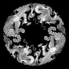 Pencil Shading Techniques, Alpha Art, Ornamental Vector, Cnc Cutting Design, Grayscale Image, 3d Cnc, Tibetan Art, Wood Carving Patterns, Art Of Glass