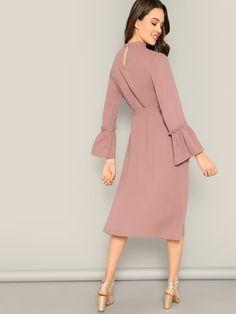 Meilleures Les Robe Dresses De TravailléeCute Images Manches 24 SVGqMpUz