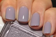 Bangle Jangle-pretty for the start of fall! Essie Bangle Jangle-pretty for the start of fall!Essie Bangle Jangle-pretty for the start of fall! Love Nails, How To Do Nails, Pretty Nails, My Nails, Purple Shellac Nails, Acrylic Nails, Light Purple Nails, Chic Nails, Winter Nails