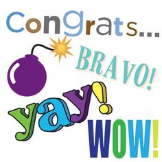 Pixingo lets you make your congrats cards from scratch using thousands of free elements. Or you can choose any one of our templates at pixingo.com/pix/congrats
