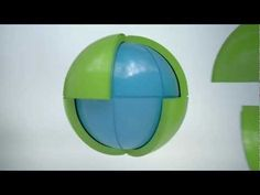 OBLO® PUZZLE SPHERE - Playful, three-dimensional puzzle which, when assembled, forms a sphere.