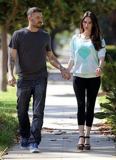 Megan Fox and Brian Austen Green June 7, 2012 - UsMagazine.com