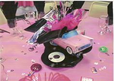 grease themed party activities – Home Party Theme Ideas Grease Themed Parties, 50s Theme Parties, Grease Party, 50s Party Decorations, Party Centerpieces, Balloon Decorations, Centerpiece Ideas, Fifties Party, Retro Party
