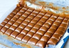 Фото к рецепту: Медовые ириски