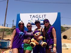 Sachlav & The Ladies at the Taglit - Birthright Israel Mega event sports day